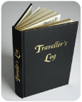 Travellers Log Cover